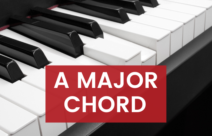 How to Play: A Major Piano Chord